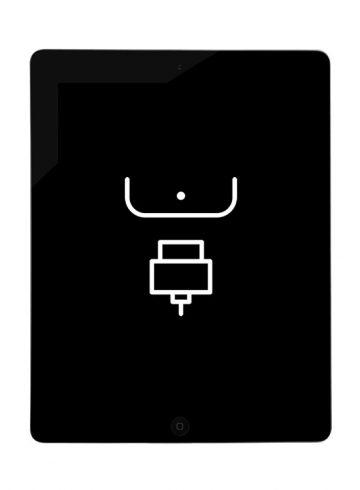 Reparação Porta Dock – iPad 4
