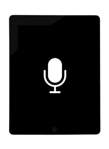Reparação Microfone – iPad 4
