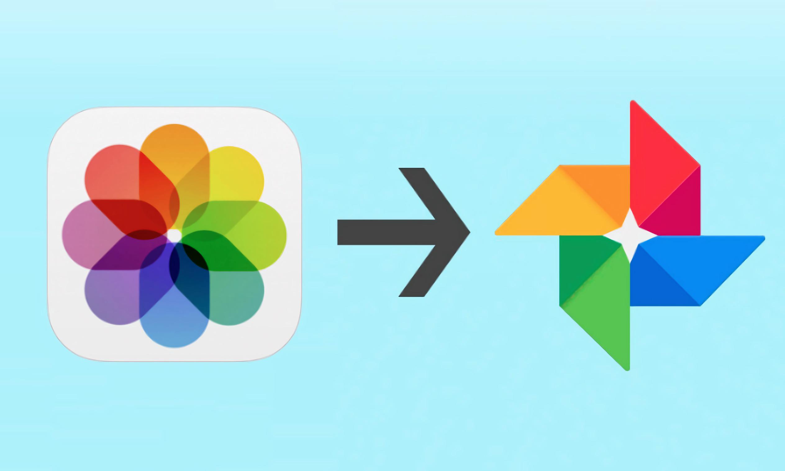 icloud google photos apple
