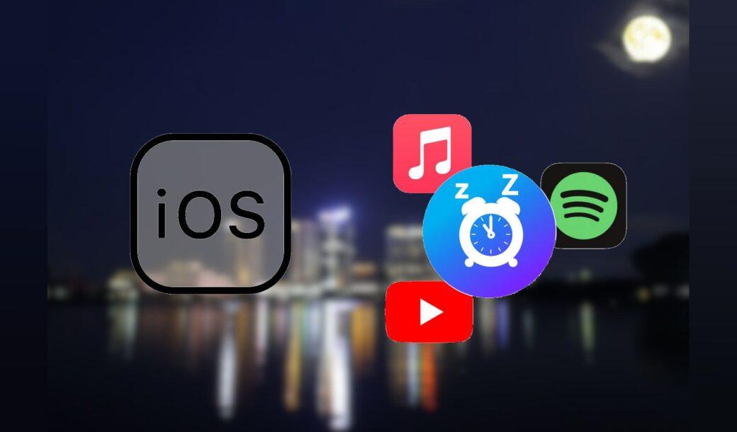 iPhone – Parar reprodução de música em hora programada