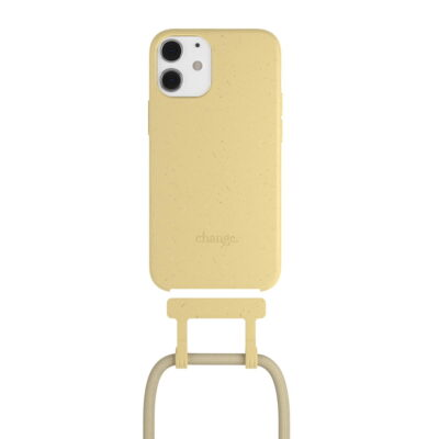 Woodcessories - Change iPhone 12 mini (citrus yellow)