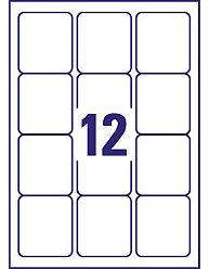 Avery - L7164-100 (Etiquetas 12/folha)